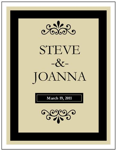 wine labels templates free wine bottle label template for weddings gift ideas