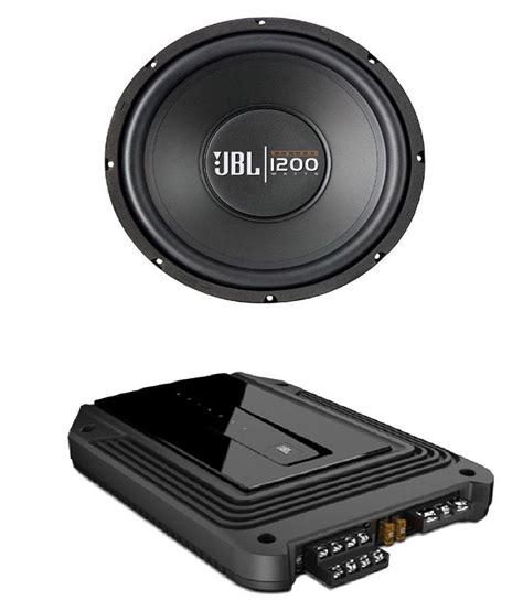 Power Lifier Subwoofer jbl gx a644si 1200 watt car subwoofer with 4 channel power lifier buy jbl gx a644si 1200