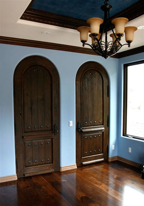 Iron Dining Room Chairs by Rustic Doors Rustic Double Doors Custom Door Demejico