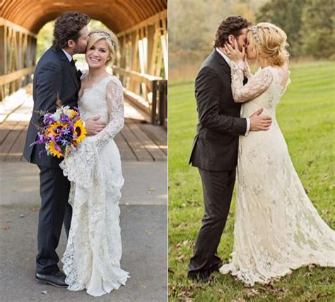 kelly clarkson marries her talent manager fianc 233 brandon