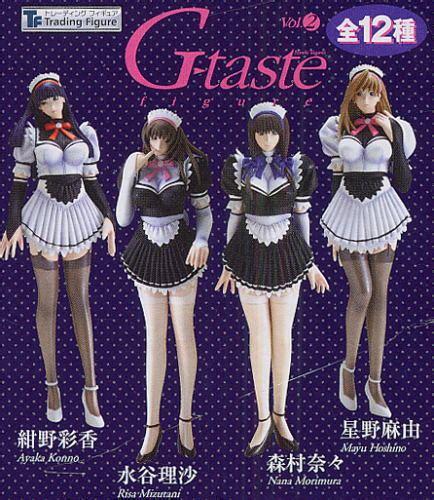 Pvc G Taste Bib Ori g taste trading figure vol 2 risa mizutani white my anime shelf