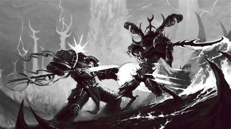 grey knights wallpaper 1920x1080 fantasy art creature warrior skull fantasy armor
