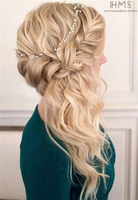 peinados para fiesta part 2 las 25 mejores ideas sobre peinados de baile de graduaci 243 n