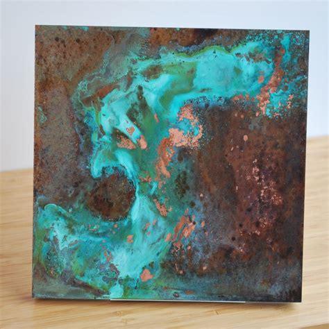 Teal Bedroom Decor custom copper patina wall art various by ck valenti