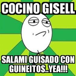 Salami Meme - meme challenge accepted cocino gisell salami guisado con