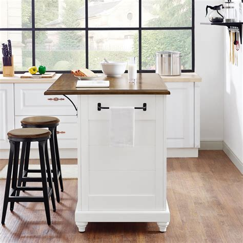 white kitchen island with stools dorel living dorel living kelsey kitchen island with 2