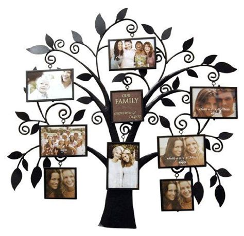 unique collage frames new view family tree metal collage frame