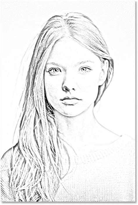 sketch pattern photoshop portrait photo to pencil sketch with photoshop cs6 tutorial