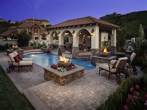 backyard living pools classic bedroom designs pool with outdoor living patio