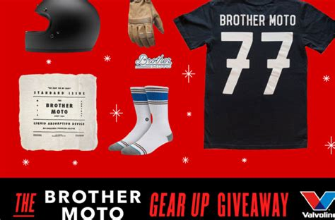 Valvoline Giveaway - valvoline brother moto gear up giveaway win prize packages