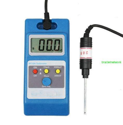 Tesla Meter Uses Lcd Tesla Meter Wt10a Gaussmeter Surface Magnetic Field Tester