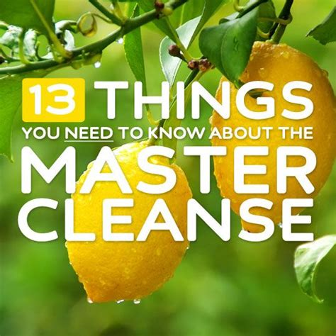 Has Anyone Died From Detoxing by Best 25 Master Cleanse Diet Ideas On Master