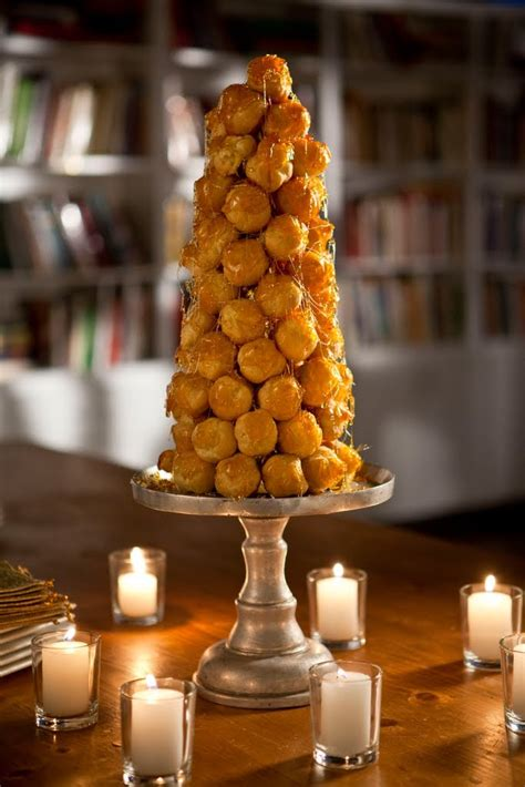 caramel croquembouche holiday tree http www