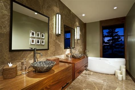 decorating bathroom how to decorate bathroom with wood one decor