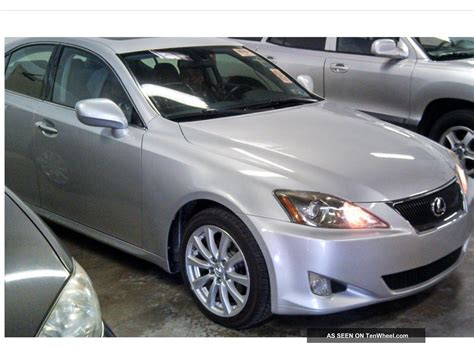 lexus coupe 2006 2006 lexus is250 base sedan 4 door 2 5l