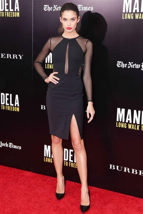 Imanela Dress 1 saio at a screening of mandela walk to freedom carpet looks