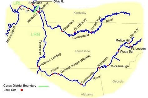tennessee river boat tours routes towboattour