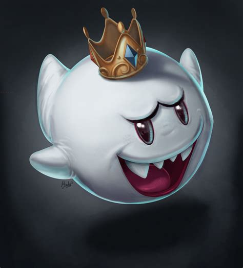 king boo by dylean on deviantart