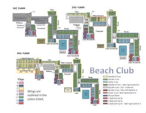 disney beach club floor plan disney s yacht beach club resorts information