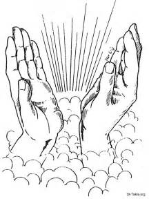 best photos of open praying hands coloring page praying