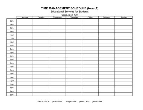 time management sheet template time spreadshee time