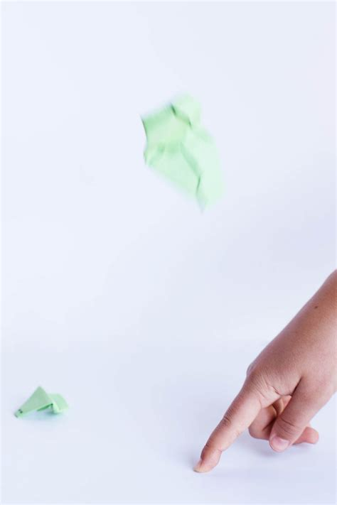 Origami Frog That Jumps - easy origami jumping frog all for the boys