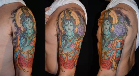 hindu tattoos for men 20 spiritual tattoos on half sleeve
