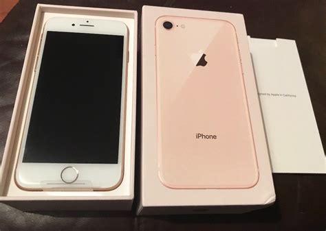 Iphone 8 256gb apple iphone 8 256gb gold o2 brand new in lanark