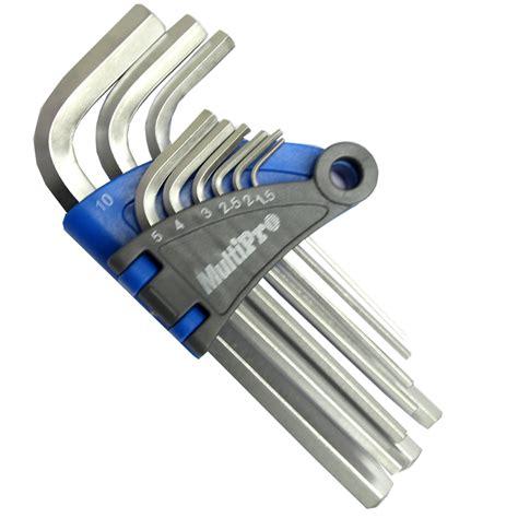 Kunci Set L Pendek 8 Tools Hitam multipro kunci l hex pendek set 9 pcs elevenia