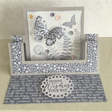 Swing Tutorial by Swing Easel Card By Lesleybd Cards And Paper Crafts At