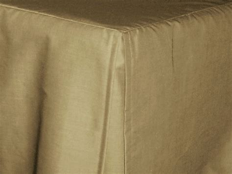 taupe bed skirt taupe khaki tailored bedskirt for cribs and daybeds and