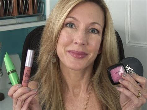 foundation for 58 year old woman easy everyday makeup tutorial for mature women youtube