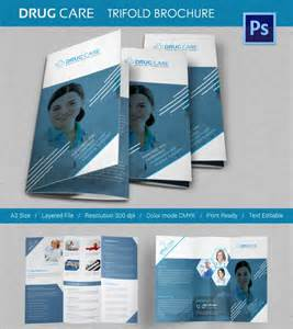 11 drug brochure templates psd illustrator files