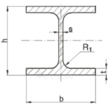 Drawing H Beam by H Beam Heb 300 12000 S275jr Cheaper Low Price