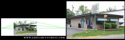 Outside Of House introduction to drawing houses in 2 point perspective