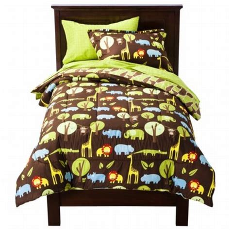 Circo Full Bed In Bag Wild Safari Jungle Animal Comforter Circo Bedding