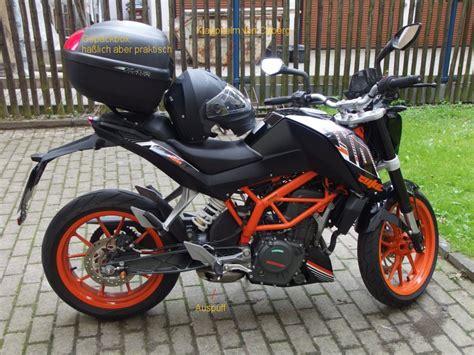Triumph Motorrad Jena by Meine Ktm Duke 390