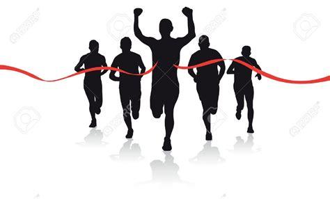 runner line runner finish line clipart clipground
