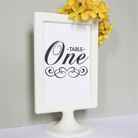 Wedding Table Numbers by Set Of 10 Wedding Table Number Cards By Doodlelove