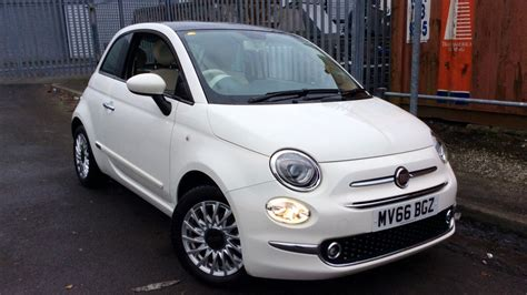 white fiat 500 used 2016 fiat 500 for sale white 2016 fiat 500 model 1