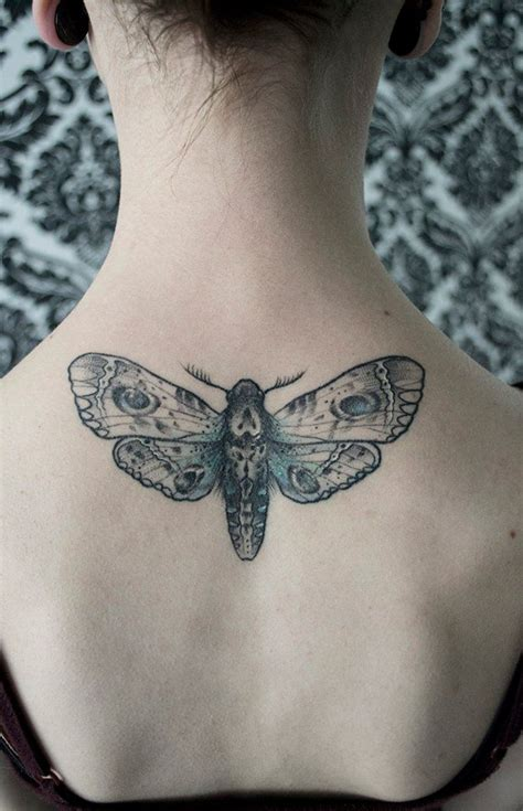 simple tattoo back 25 simple moth tattoos