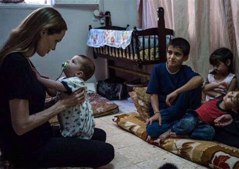 angelina jolie adopted syrian baby arts & entertainment