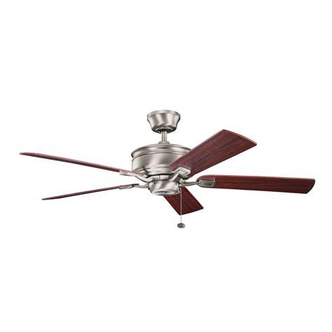 antique style ceiling fan kichler antique pewter ceiling fan 300178ap