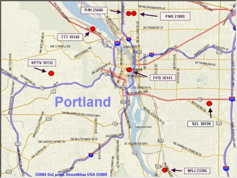 portland on map of oregon map of greater portland oregon metro area pictures to pin