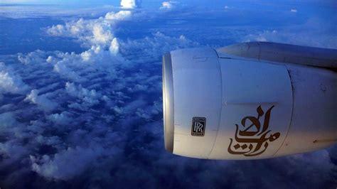 emirates jfk to dubai emirates a380 take off new york to dubai jfk dxb nov