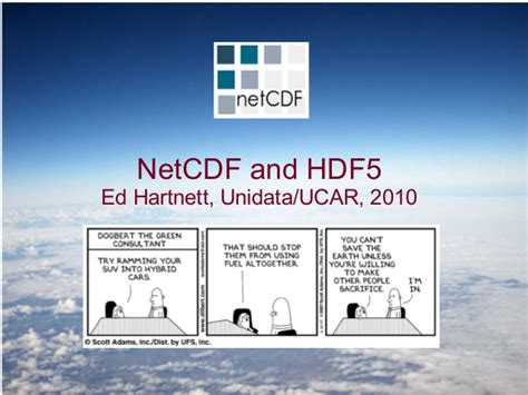 arcgis netcdf tutorial netcdf and hdf5