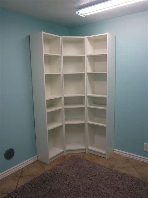 white floor l with shelves white corner bookcases image yvotube com