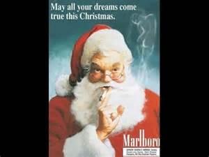 merry christmas baby santa marlboro man cool