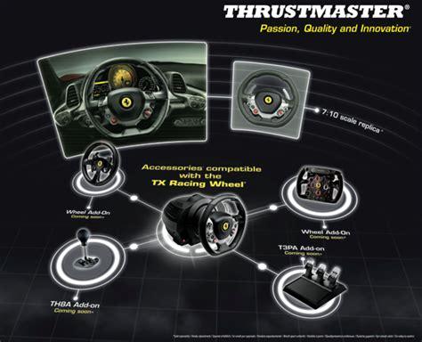 New Thrustmaster Tx 458 Italia Thrustmaster Tmst4469016 Tx Racing Wheel 458