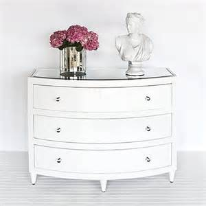 worlds away natalie white bow front dresser traditional